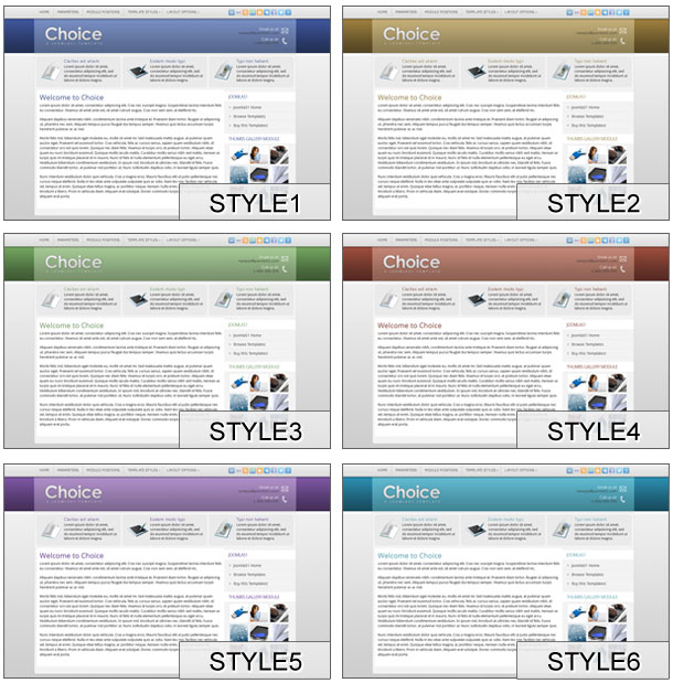 style template